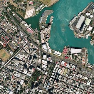 aerial image city
