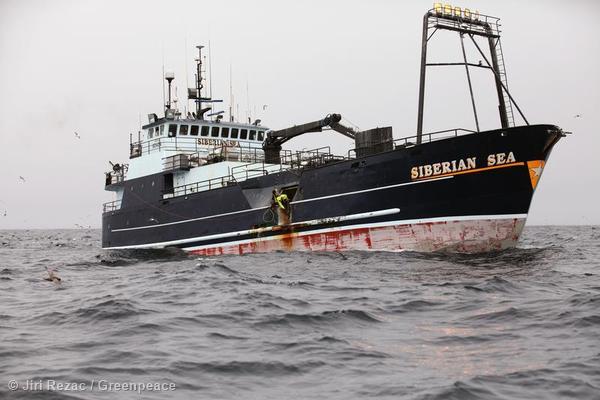Longliner in the Bering Sea