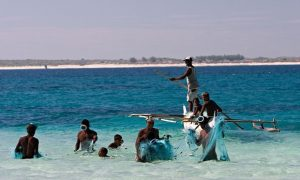 87% of adults among the Andavadoaka community in Madagascar are fishers; Photograph: Blue Ventures